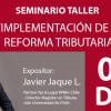 Seminario Taller: Implementación de la Reforma Tributaria