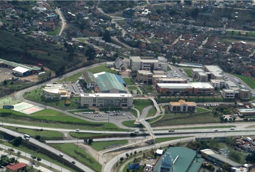 Aerea Campus San Andrés UCSC