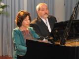El arte y la música se hizo presente en el 19º aniversario de nuestra Universidad, con la presentación de los afamados  concertistas Edith Fisher y Jorge Pepi Alos.