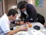En el Campus San Andrés, los universitarios prestaron servicios básicos la toma de presión arterial y el control de signos vitales.