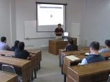 En el Auditorio B de la Facultad Ingeniería  el Dr. Jorge Baier se reunió con estudiantes y académicos de la UCSC.