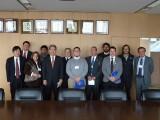 El docente Marcelo Villagrán integró la delegación chilena que en febrero visitó Japón para tratar temas relativos a tsunamis.