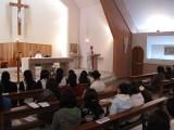 Repletando la Capilla Santa María Reina, Enfermería celebró su día en el Campus San Andrés.