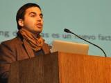 """La charla """"Efecto de la incorporación del ranking de notas en la selección universitaria"""" estuvo a cargo del investigador de la U. de Chile, Ignacio Ríos."""