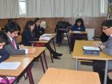 La simulación de un juicio oral fue uno de los talleres que la UCSC desarrolló en el Instituto de Humanidades Concepción.