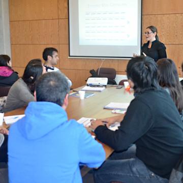 Una excelente respuesta tuvieron los talleres que la UCSC realiza por cuarto año consecutivo para sus egresados y exalumnos.