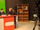 El taller de la carrera de Dirección Audiovisual y Multimedia es una de las actividades desarrolladas en las Pasantías UCSC.