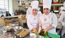 Una selección de sabores autóctonos acompañó cada uno de los paltos de moderna presentación de la carrera de Gastronomía Intercultural en Torneo ChefSur.