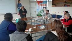 El proyecto Mecesup de la sede se reúne con miembros de la comunidad para que el proceso sea participativo.