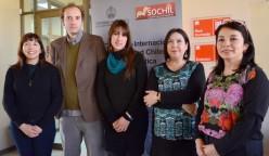 Los académicos dialogaron sobre diversos temas durante todo un día de trabajo en el Campus San Andrés.