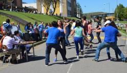 Las actividades recreativas forman parte del programa aniversario de la Escuela de Periodismo.