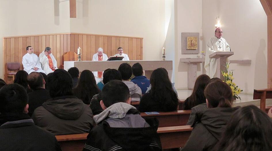 Gran Canciller celebró Misa de Aniversario de Pastoral