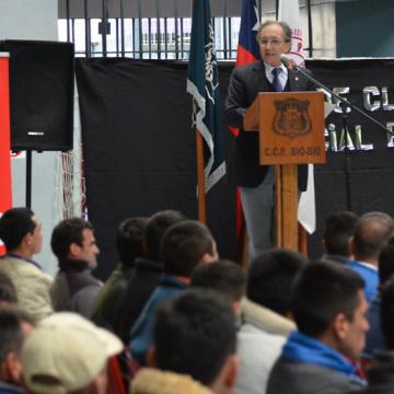 Este viernes se celebró la ceremonia en el Centro de Cumplimiento Penitenciario.