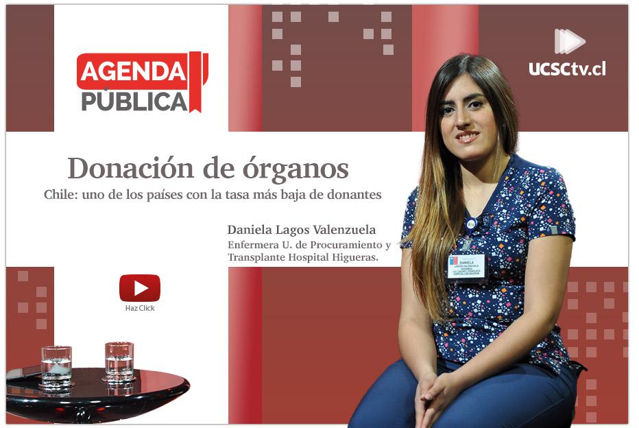 """Agenda Pública: """"Donación de órganos"""""""