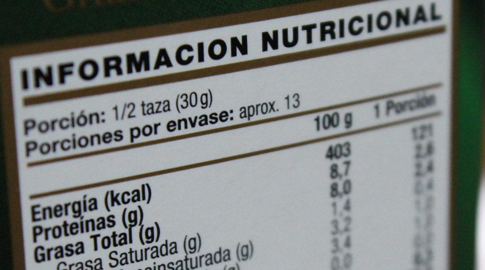 Día del Nutricionista: El paso a paso para comparar etiquetas ...