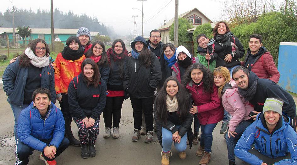UCSC se hace presente en comuna de Arauco en tradicionales misiones