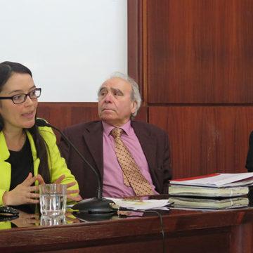 Especialista dictó charla sobre propiedad intelectual en Facultad de Derecho
