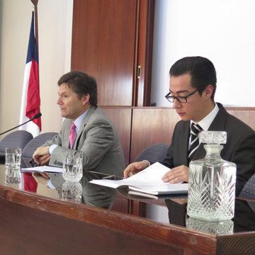 Charla sobre Agenda Corta Antidelincuencia instruyó a alumnos de la Facultad de Derecho
