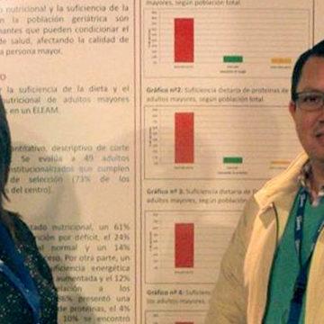 Académicos de Nutrición realizaron estudios en relación al envejecimiento y la alimentación
