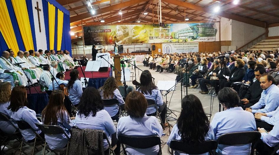 UCSC acogió X Asamblea Eclesial Diocesana convocada por el Arzobispado de Concepción