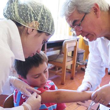Operativo de Tecnología Médica benefició a escuelas rurales del sector La Palma