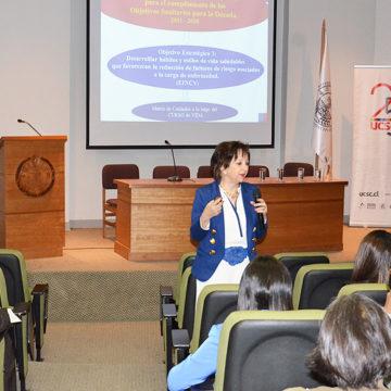 Actualización de las normas ministeriales fue tema central en seminario de Nutrición y Dietética