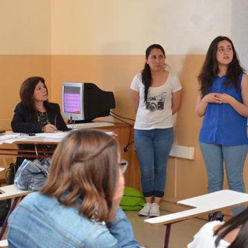 Alumnos de Trabajo Social realizaron valoración psicosocial a adultos mayores de Lo Méndez