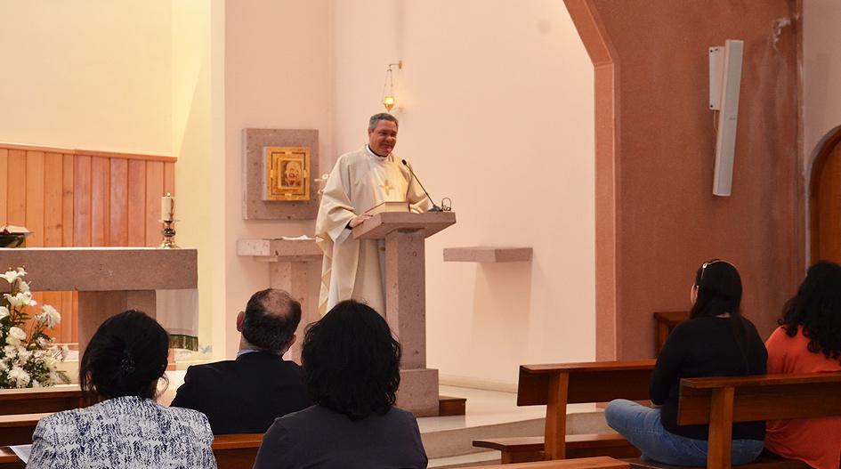 Comunidad Universitaria celebró Día de la Inmaculada Concepción