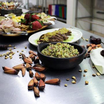 Proponen integrar alimentos propios de la zona en cenas de fin de año
