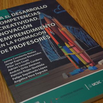 Proyecto FIC publicó inédito libro sobre formación en innovación y emprendimiento