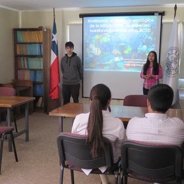 Escolares exponen trabajo en cierre de Pasantías Científicas 2016