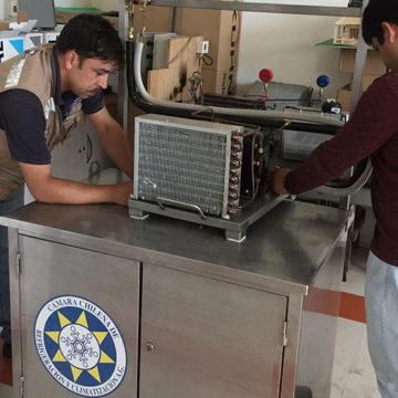 Técnicos en refrigeración y climatización se certifican en Sede Talcahuano del IT
