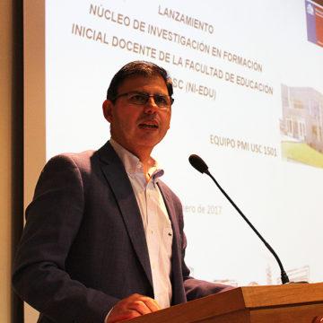 Facultad de Educación lanzó núcleo de investigación para potenciar la academia