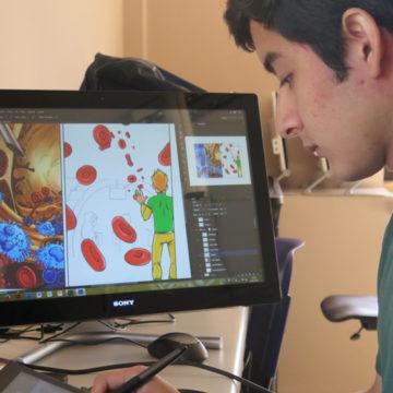 Aprendizaje y animación: dos conceptos que se unen en proyecto interactivo de Medicina