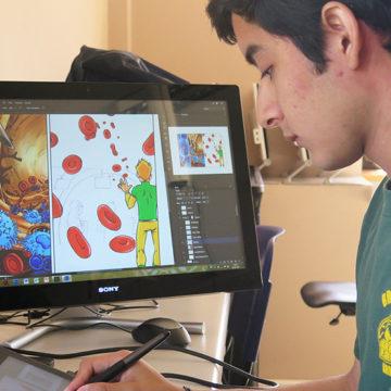 Medicina lanza cómic interactivo que facilita el aprendizaje de procesos biológicos complejos