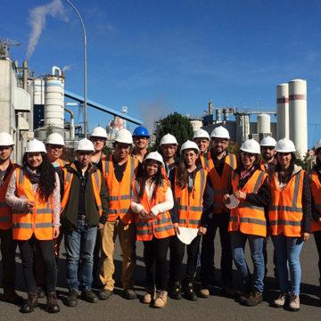 Estudiantes de IT Sede Talcahuano conocen estrategias del sector industrial