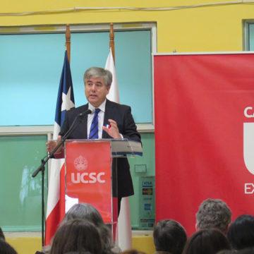 Clase inaugural de Sede Cañete del IT abordó desafíos de la educación técnica superior