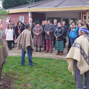 UCSC inaugura espacio de apoyo y acogida para el estudiante mapuche en Sede Cañete