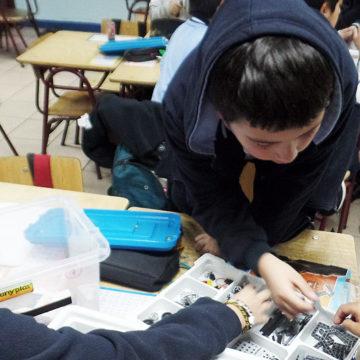 Facultad de Ingeniería acerca la robótica a escolares de la comuna de Coelemu