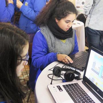 IV Feria de Ingeniería Civil Informática exhibió juegos computacionales