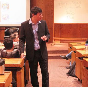Economía del siglo XXI y la realidad chilena fueron abordadas por Franco Parisi en UCSC