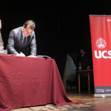Escolares de Coronel se integran al Preuniversitario Social UCSC