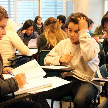 340 jóvenes de escasos recursos son parte del Preuniversitario Social UCSC