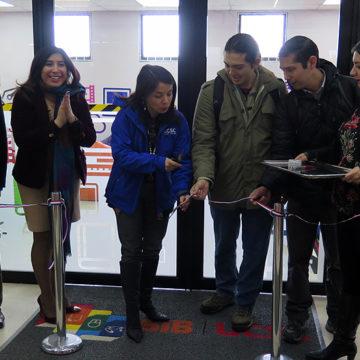 Biblioteca inauguró nuevo espacio para facilitar el estudio colaborativo