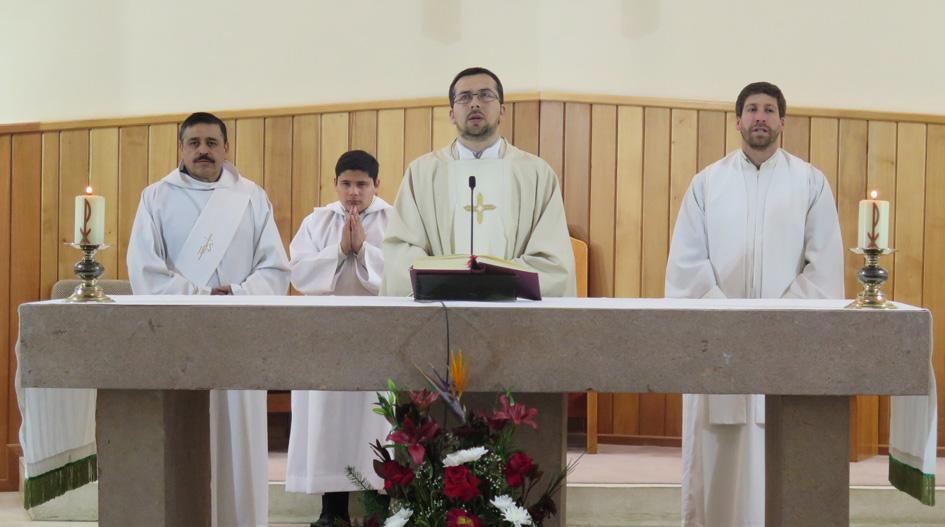 Misa conmemora nuevo aniversario de la Pastoral Universitaria