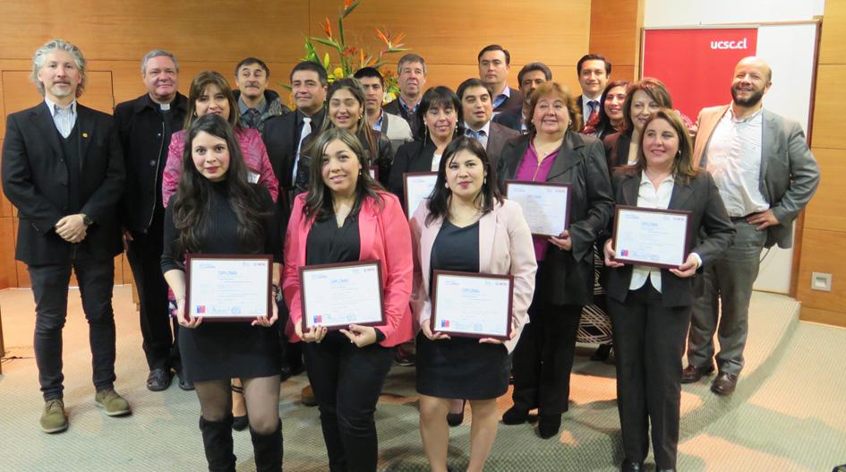 Familiares de estudiantes de la UCSC se certifican como administradores de transporte