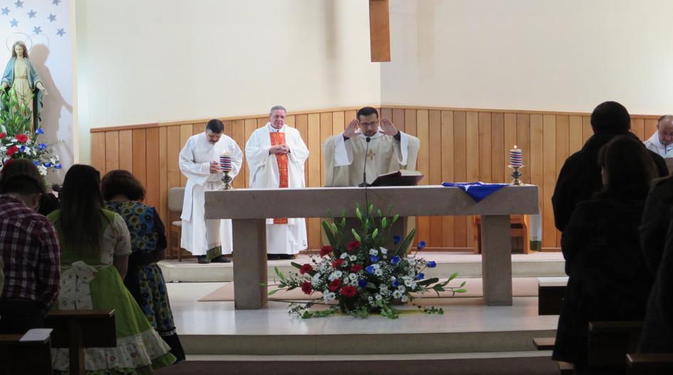 Con Misa a la Chilena Pastoral de la UCSC celebra Fiestas Patrias