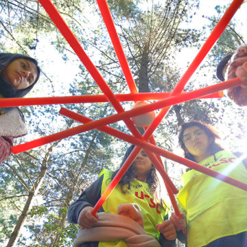 """Escolares midieron sus habilidades científicas en """"Stem Camp"""" de la UCSC"""