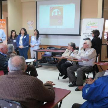 Taller de Trabajo Social promueve las relaciones intergeneracionales