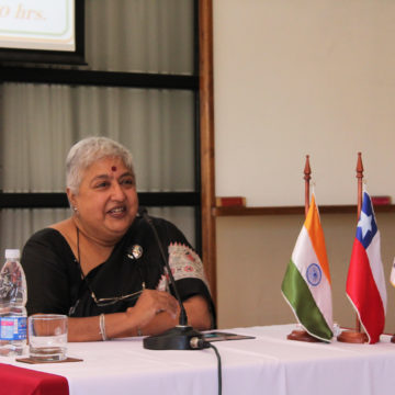 Embajadora de la India visita la UCSC